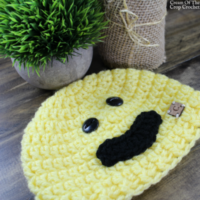 Smile Face Emoji Hat Crochet Pattern